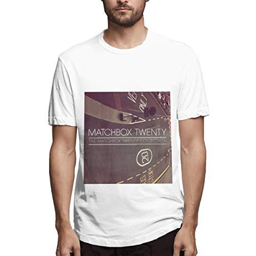 Matchbox Twenty The Matchbox Twenty Collection O-Neck T Shirts Short Sleeve Tee White