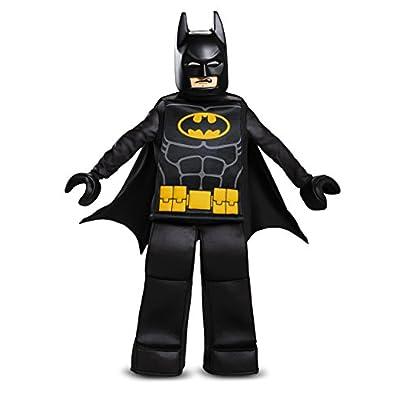 Disguise Batman Lego Movie Prestige Costume, Black, Small (4-6): Toys & Games
