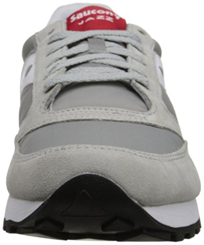 Saucony Originals Men's Jazz Original Sneaker Grey/White/Red cheap sale fashionable how much online free shipping order 9hopo