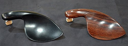 (Guarneri 3/4 - 4/4 Violin Chinrest - Rosewood with Standard Bracket)