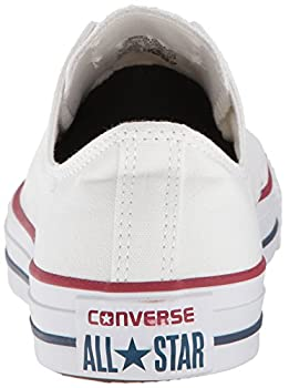 Converse Unisex Chuck Taylor All Star Low Top Optical White Sneakers - 12.5 B(m) Us Women 10.5 D(m) Us Men 2