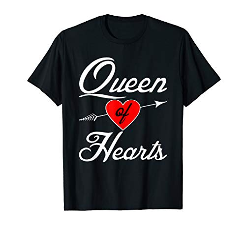 Queen of Hearts Shirt Halloween Costume Playing -
