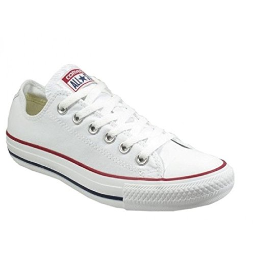 Converse All Star Chuck Taylor Lo Top Sneakers Hommes Vrai Blanc