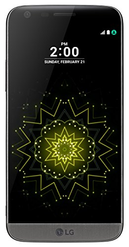 LG G5 Smartphone (5,3 Zoll (13,5 cm) Touch-Screen, 32GB interner Speicher, Android 6.0) titan