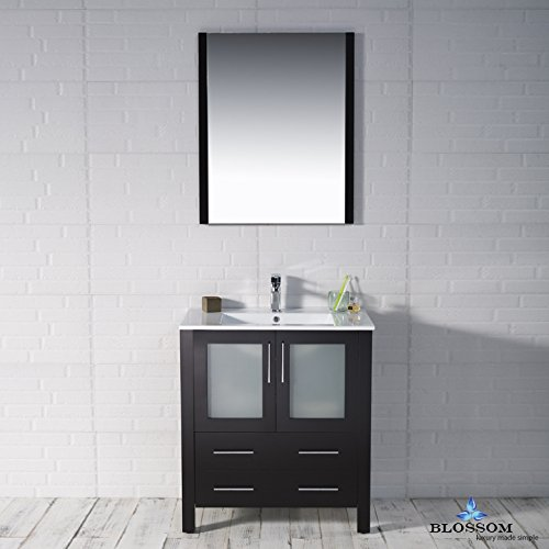 BLOSSOM 001-30-02 Sydney 30'' Vanity Set with Mirror Espresso by Blossom