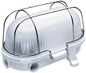 Oval 100, ES / E27, Lámpara de luz de mampara de techo/pared, IP54 ...
