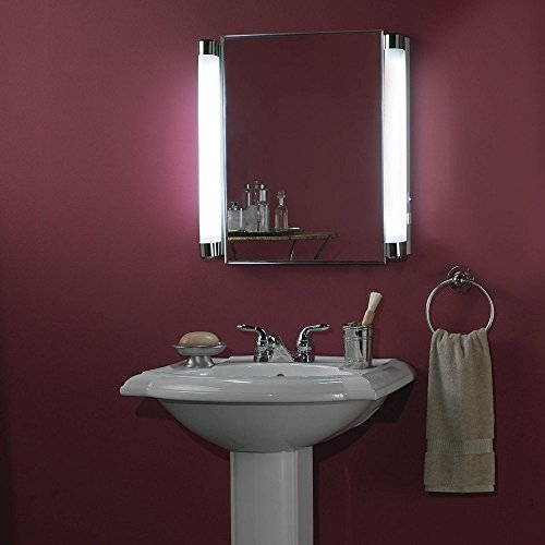Broan-NuTone 455FL Focus Lighted Recessed Medicine Cabinet by Broan-NuTone by Broan-NuTone