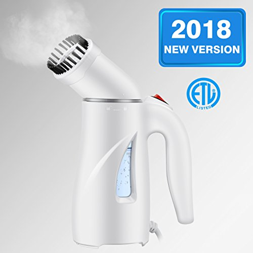 Homitt Handheld Clothes Steamer, Portable Travel Steamer for Clothes Wrinkle Remover with Automatic Shut-off and Fast Heat-up Function Safe Use for Travel,Office and Home|Mother's Gift [New Version] by Homitt