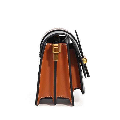 Sac Noir à en Valin Sac Sac main portés femme fashion cuir épaule 186 LF bandoulière aSHwFz