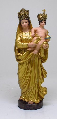 Our Lady of Prompt Succor Statue Colored Version Divinity Collection Jesus (Our Lady Of Prompt Succor New Orleans)