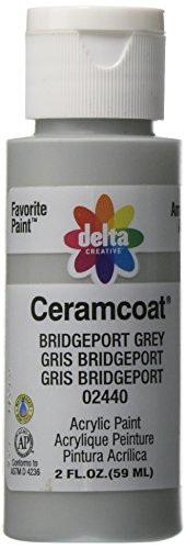 Delta Creative Ceramcoat Acrylic Paint in Assorted Colors (2 oz), 2440, Bridgeport (Bridgeport Finish)