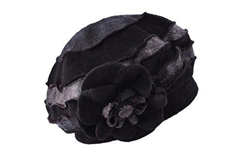 De Lana Prueba Cálido A Otoño Negro black Sombrero Moda Invierno Sombrero Viento De Gorro Knit ZGMZHNXC 1awtqt