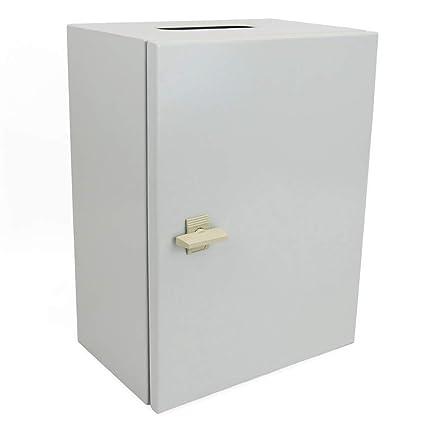 Cablematic -Caja de distribución eléctrica de Metal IP65 para Pared, 400 x