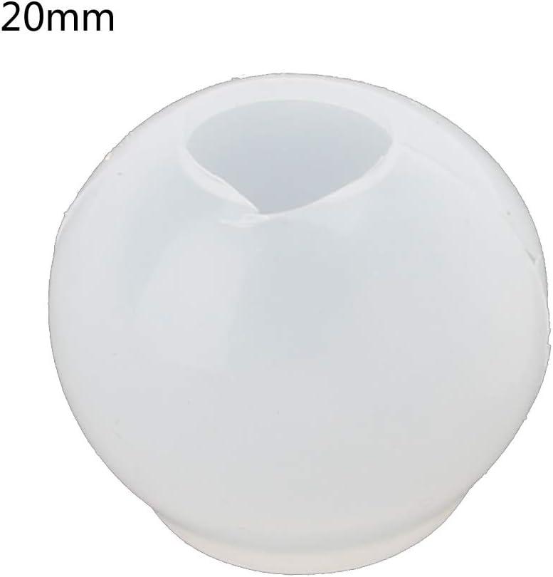 Huwaioury 20 25 30 mm Universe Kugelanh/änger Epoxidharz Silikon Form Schmuckherstellung Werkzeuge 1