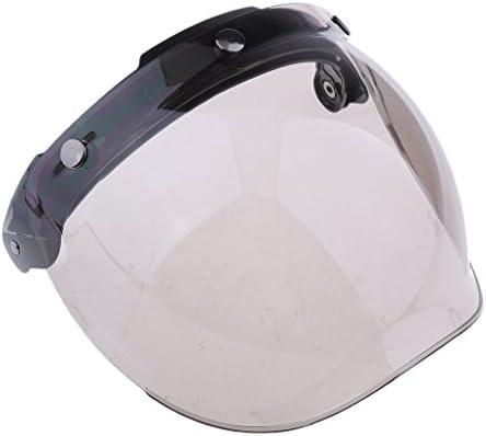 H HILABEE 3 Snap Flip Up vizier Face lens voor open gezicht motorhelm Kleur2