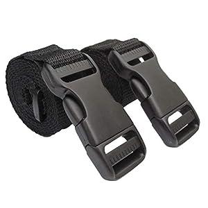 BuckleGear Molle Accessory Straps (Black)