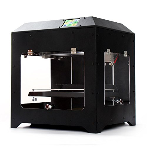 SoMars 3d Printer M6, (Touch Screen with System, Metal Frame Structure, Acrylic Window, Dual Extruder, Works with ABS and PLA) Noulei