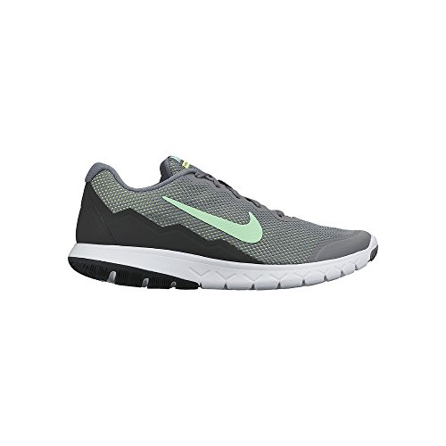 Nike Women's Flex Experience Rn 4 Cl Gry/Grn Glw/Anthrct/Ghst Gr Running Shoe 8 Women US
