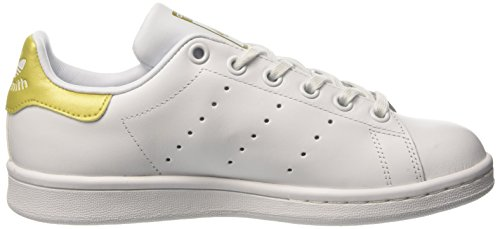 Unisex White adidas Stan White Footwear EU White 21 Metallic Smith Trainers White Kids' Footwear Gold aqqwxdvg