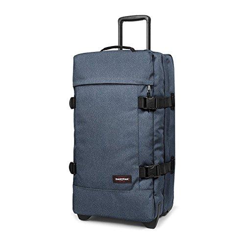 Eastpak Trolley Tasche M TRANVERZ 3,2 kg Blau Double Denim 67x35x30cm Polyester Stoff Reisetasche Koffer Bowatex