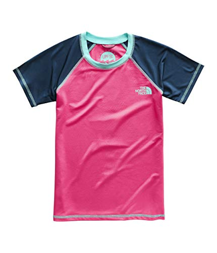 The North Face Girl's Short Sleeve Amphibious Tee, Atomic Pink, Size (Best Atomic Ski Goggle)