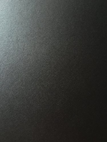 ONYX BLACK Stardream Metallic Cardstock Paper - 8.5 X 11 inch - 105 lb./284 gsm Cover - 25 Sheets from Cardstock (Stardream Metallic Onyx)