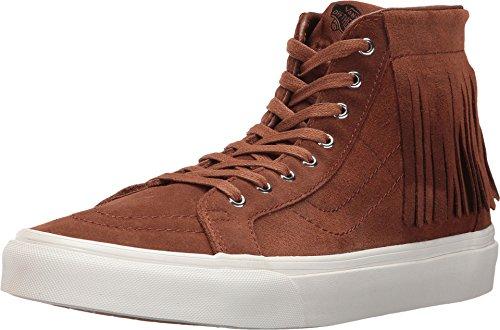 - Vans Sk8-Hi Moc Suede Monks Robe/Blanc De Ankle-High Fashion Sneaker - 9M 7.5M