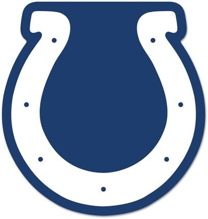 Amazon Com Indianapolis Colts Logo On The Gogo Car Grill Emblem Approx 5 X7 Kitchen Dining
