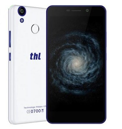 THL T9 - 5,5 Zoll Android 6.0 Smartphone 4G Quad-Core 1,3 GHz Fingerabdruck-Sensor 5MP Dual-SIM-3000mA Batterie mit 8,5 mm Dicke - Weiß