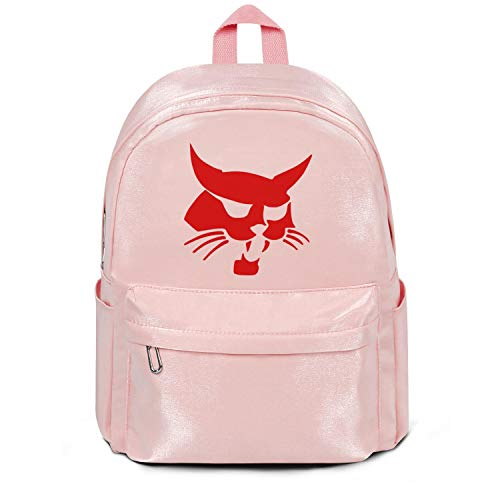 (Craft Nylon Backpack for Men's/Women's Brisbane-Marine-logo-redheat-pink Anti-theft School Backpacks)