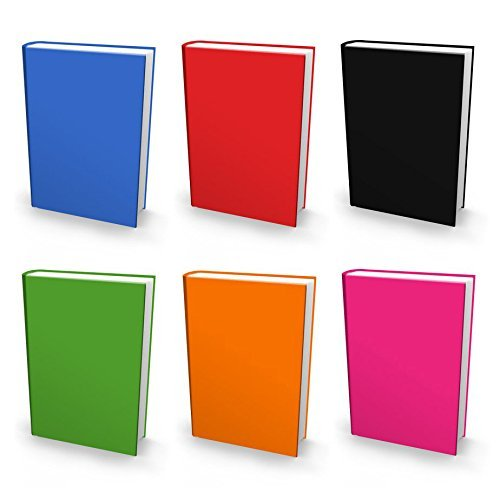 Book Cover: Jumbo 6 Color Value Pack. Fits Most Hardcover Textbooks up to 9