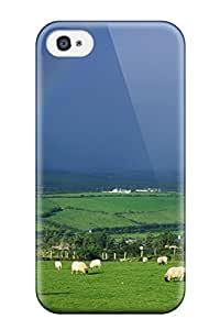 Evelyn C. Wingfield's Shop Iphone 4/4s Hybrid Tpu Case Cover Silicon Bumper Rainbow 8605213K60218701
