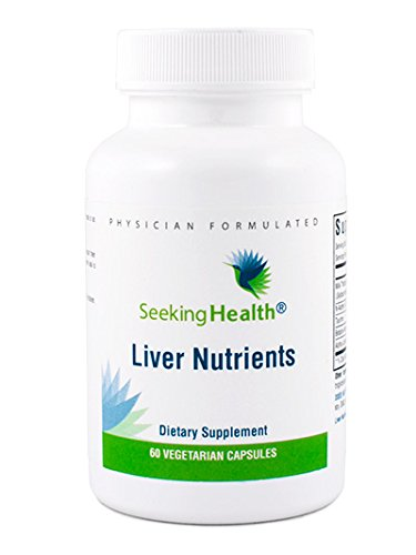 Liver Nutrients | 60 Vegetarian Capsules | Seeking Health | Physician-formulated | Provides A Balanced Combination Of Natural Nutrients That Support Liver Detoxification | Free Of Common Allergens
