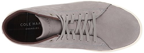 Ivory Men's Nubuck HIGH Cole Haan Ironstone Sneaker TOP Crosscourt Grand R7qznxwqP