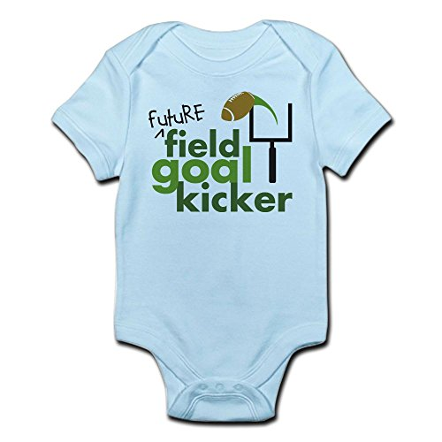 CafePress Future Field Goal Kicker - Cute Infant Bodysuit Baby (Baby Kickers)