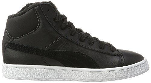 Adults' 1948 Unisex black Black L Black UK 9 Trainers Black Top Puma Hi 01 Fur Mid 5w1xHcTqR