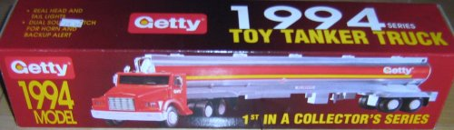 Getty Toy Tanker Truck 1994 1st in Collector's Series