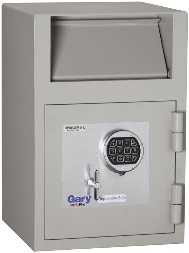Gary by FireKing FB2114-RE Single-Door Depository Safe with Electronic Combination Lock, 21 x 14 x 14 Inches by FireKing