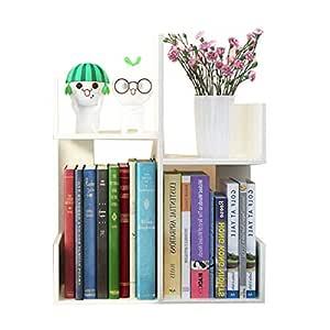 Librerías Estante para Libros Estantería pequeña Estante de ...