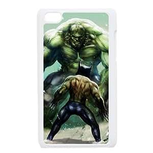 Wolverine Vs Hulk iPod Touch 4 Case White Delicate gift AVS_725815