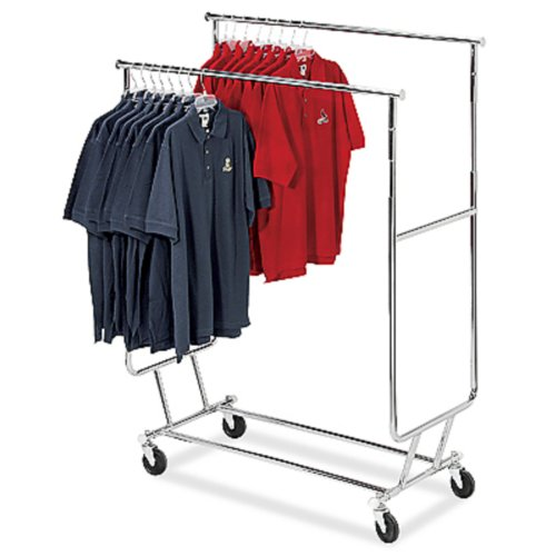 One (1) - Double Bar Salesman Rack -