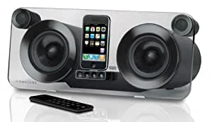 iHome iP1 100W Negro acoplamiento altavoz - Altavoces (100 W, 103 dB, 45 - 20000 Hz, Negro, 80 W, iPod, iPhone, MP3)