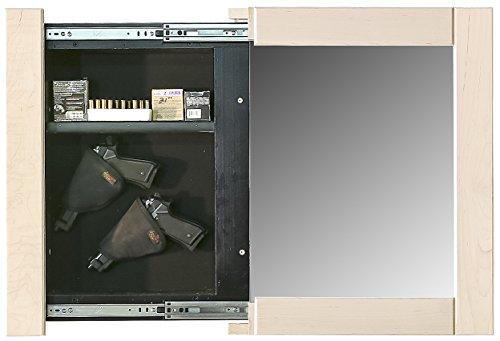 Willa-Hide Picture Frame Hidden Gun Cabinet (Unfinished)