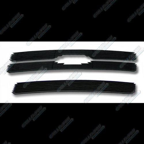 08-12 2011 2012 Ford Escape Black Billet Grille Grill Combo Insert (Grills For Ford Escape compare prices)
