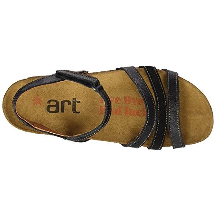 Art 0998 Memphis Black i Breathe Scarpe Col Tacco Con Cinturino A T Donna