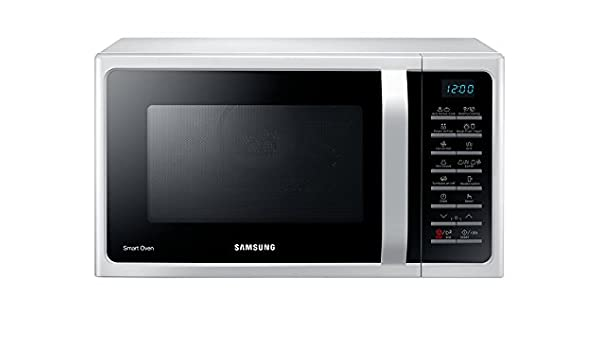 Horno a microondas Samsung plateado nuevo con defectos ...