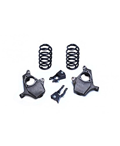 MaxTrac KS331223 Lowering Kit 2 in. Front Drop 3 in. Rear Drop Incl. Front Spindles/Rear Coils/Rear Shock Extenders/Rear Air Ride Sensor Rods Lowering Kit ()
