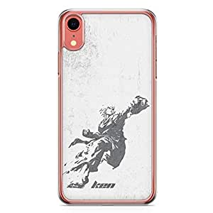 Loud Universe Action Ken Street Fighter Classic iPhone XR Cover with Transparent Edges
