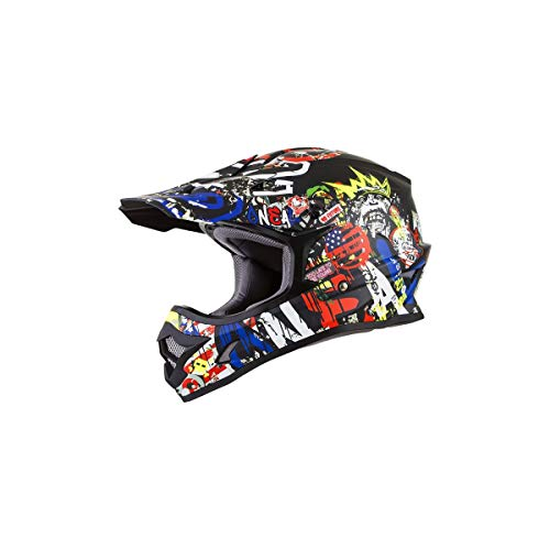 ONeal Unisex-Adult Off-Road Style 3 SRS Helmet Rancid Multi S (Small)