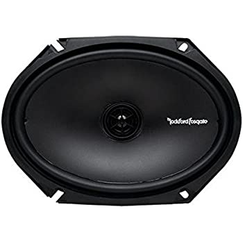 Rockford R168X2 Prime 6 x 8 Inches Full Range Coaxial Speaker, Set of 2